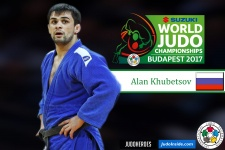 Alan Khubetsov (RUS) - World Championships Budapest (2017, HUN) - © IJF Media Team, International Judo Federation