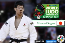 Takanori Nagase (JPN) - World Championships Budapest (2017, HUN) - © IJF Media Team, International Judo Federation