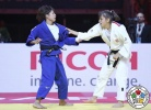 Ami Kondo (JPN), Milica Nikolic (SRB) - World Championships Budapest (2017, HUN) - © IJF Media Team, International Judo Federation