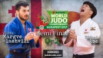 Vazha Margvelashvili (GEO), Hifumi Abe (JPN) - World Championships Budapest (2017, HUN) - © IJF Media Team, International Judo Federation