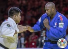 Duurenbayar Ulziibayar (MGL), Teddy Riner (FRA) - World Championships Budapest (2017, HUN) - © IJF Media Team, International Judo Federation