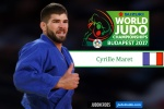 Cyrille Maret (FRA) - World Championships Budapest (2017, HUN) - © IJF Media Team, International Judo Federation