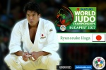 Ryunosuke Haga (JPN) - World Championships Budapest (2017, HUN) - © IJF Media Team, International Judo Federation