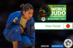 Funa Tonaki (JPN) - World Championships Budapest (2017, HUN) - © IJF Media Team, International Judo Federation