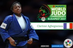 Clarisse Agbegnenou (FRA) - World Championships Budapest (2017, HUN) - © IJF Media Team, IJF
