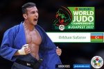 Orkhan Safarov (AZE) - World Championships Budapest (2017, HUN) - © IJF Media Team, International Judo Federation