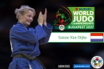 Sanne Van Dijke (NED) - World Championships Budapest (2017, HUN) - © IJF Media Team, International Judo Federation