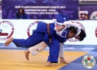 Rizu Matsumoto (JPN), Morgane Fereol (FRA) - Cadet World Championships Santiago de Chile (2017, CHI) - © IJF Media Team, International Judo Federation