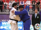 David Babayan (RUS), Min-Jong Kim (KOR) - Cadet World Championships Santiago de Chile (2017, CHI) - © IJF Media Team, International Judo Federation