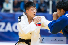 Yong Gwon Kim (PRK) - World Championships Juniors Zagreb (2017, CRO) - © Klaus Müller, Watch: https://km-pics.de/