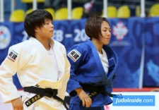 Uta Abe (JPN), Chishima Maeda (JPN) - World U21 Championships Zagreb (2017, CRO) - © JudoInside.com, judo news, results and photos