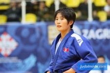 Ji Hye Kim (PRK) - World U21 Championships Zagreb (2017, CRO) - © JudoInside.com, judo news, photos, videos and results
