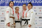 Imogen Ranner (GBR), Cordelia Gregory (GBR), Jess Richardson (GBR), Elin Lloyd (GBR) - British U21 Championships Sheffield (2018, GBR) - © Mike Varey - Elitepix, British Judo Association