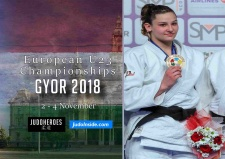 Loriana Kuka (KOS) - European Championships U23 Gyor (2018, HUN) - © JudoInside.com, judo news, results and photos