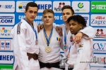 Adrian Sulca (ROU), Artem Bubyr (UKR), Gergely Nerpel (HUN), Keagan Young (CAN) - European Cup Cadets Zagreb (2018, CRO) - © Klaus Müller, Watch: https://km-pics.de/
