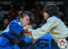 Catarina Costa (POR), Fjolla Kelmendi (KOS) - Grand Prix Antalya (2018, TUR) - © IJF Media Team, IJF