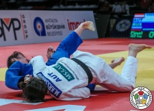 Magdalena Krssakova (AUT) - Grand Prix Antalya (2018, TUR) - © IJF Media Team, International Judo Federation
