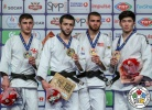 Albert Oguzov (RUS), Jaba Papinashvili (GEO), Adonis Diaz (USA), Amarbold Jagvaraldorj (MGL) - Grand Prix Antalya (2018, TUR) - © IJF Media Team, International Judo Federation