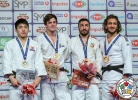 Tommy Macias (SWE), Chang-Rim An (KOR), Hidayet Heydarov (AZE), Mohammad Mohammadi (IRI) - Grand Prix Antalya (2018, TUR) - © IJF Media Team, International Judo Federation