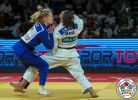 Sarah Menezes (BRA), Tamar Malca (ISR) - Grand Prix Antalya (2018, TUR) - © IJF Media Team, International Judo Federation
