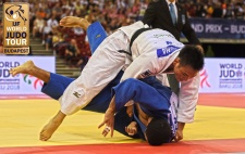 Masashi Ebinuma (JPN) - Grand Prix Budapest (2018, HUN) - © IJF Media Team, International Judo Federation