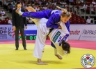 Aimi Nouchi (JPN), Martyna Trajdos (GER) - Grand Prix Budapest (2018, HUN) - © IJF Media Team, International Judo Federation
