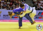 Andreja Leski (SLO), Stéfanie Tremblay (CAN) - Grand Prix Budapest (2018, HUN) - © IJF Media Team, International Judo Federation