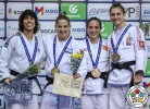 Catarina Costa (POR), Paula Pareto (ARG), Julia Figueroa (ESP), Milica Nikolic (SRB) - Grand Prix Cancun (2018, MEX) - © IJF Media Team, International Judo Federation