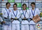Ana Perez Box (ESP), Agata Perenc (POL), Joana Ramos (POR), Evelyne Tschopp (SUI) - Grand Prix Cancun (2018, MEX) - © IJF Media Team, International Judo Federation