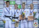 Michaela Polleres (AUT), Gabriella Willems (BEL), Daria Pogorzelec (POL), Kelita Zupancic (CAN) - Grand Prix Cancun (2018, MEX) - © IJF Media Team, International Judo Federation