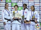 Rika Takayama (JPN), Mayra Aguiar (BRA), Kaliema Antomarchi (CUB), Samanta Soares (BRA) - Grand Prix Cancun (2018, MEX) - © IJF Media Team, International Judo Federation