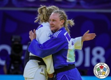 Gemma Howell (GBR) - Grand Prix Hohhot (2018, CHN) - © IJF Media Team, International Judo Federation
