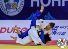 Aimi Nouchi (JPN) - Grand Prix Hohhot (2018, CHN) - © IJF Media Team, International Judo Federation
