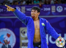 Bekmurod Oltiboev (UZB) - Grand Prix Hohhot (2018, CHN) - © IJF Media Team, International Judo Federation