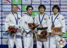 Christa Deguchi (CAN), Jessica Klimkait (CAN), You Jeong Kwon (KOR), Momo Tamaoki (JPN) - Grand Prix Hohhot (2018, CHN) - © IJF Media Team, International Judo Federation