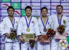 Chang-Rim An (KOR), Soichi Hashimoto (JPN), Anthony Zingg (GER), Tsogtbaatar Tsend-Ochir (MGL) - Grand Prix Hohhot (2018, CHN) - © IJF Media Team, International Judo Federation