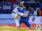 Carola Paissoni (ITA), Kelita Zupancic (CAN) - Grand Prix Tbilisi (2018, GEO) - © IJF Media Team, International Judo Federation