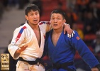 Amartuvshin Dashdavaa (MGL), Boldbaatar Ganbat (MGL) - Grand Prix The Hague (2018, NED) - © IJF Media Team, International Judo Federation