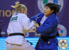 Mao Izumi (JPN) - Grand Prix Tunis (2018, TUN) - © IJF Gabriela Sabau, International Judo Federation