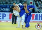 Rustam Ibrayev (KAZ), David Pulkrabek (CZE) - Grand Prix Zagreb (2018, CRO) - © IJF Media Team, International Judo Federation