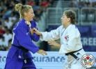 Catherine Beauchemin-Pinard (CAN), Martyna Trajdos (GER) - Grand Prix Zagreb (2018, CRO) - © IJF Media Team, International Judo Federation