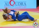 Milica Nikolic (SRB), Paula Pareto (ARG) - Grand Slam Abu Dhabi (2018, UAE) - © IJF Media Team, International Judo Federation