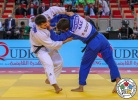 Vazha Margvelashvili (GEO), Yerlan Serikzhanov (KAZ) - Grand Slam Abu Dhabi (2018, UAE) - © IJF Media Team, International Judo Federation