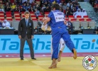 Lasha Shavdatuashvili (GEO), Akil Gjakova (KOS) - Grand Slam Abu Dhabi (2018, UAE) - © IJF Media Team, International Judo Federation