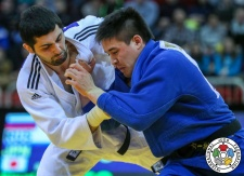 Mikhail Igolnikov (RUS), Mashu Baker (JPN) - Grand Slam Düsseldorf (2018, GER) - © IJF Media Team, International Judo Federation
