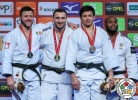 Varlam Liparteliani (GEO), Benjamin Fletcher (IRL), Niiaz Bilalov (RUS), Jorge Fonseca (POR) - Grand Slam Düsseldorf (2018, GER) - © IJF Media Team, International Judo Federation