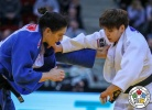 Ruika Sato (JPN), Mayra Aguiar (BRA) - Grand Slam Düsseldorf (2018, GER) - © IJF Media Team, International Judo Federation