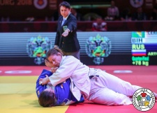 Larisa Ceric (BIH) - Grand Slam Ekaterinburg (2018, RUS) - © IJF Media Team, International Judo Federation