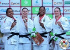 Larisa Ceric (BIH), Maria Suelen Altheman (BRA), Beatriz Souza (BRA), Carolin Weiss (GER) - Grand Slam Ekaterinburg (2018, RUS) - © IJF Media Team, International Judo Federation