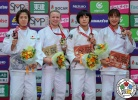 Jessica Klimkait (CAN), Momo Tamaoki (JPN), Haruka Funakubo (JPN), You Jeong Kwon (KOR) - Grand Slam Osaka (2018, JPN) - © IJF Media Team, International Judo Federation